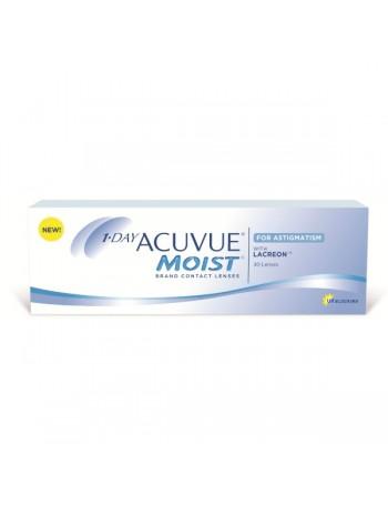 1-Day Acuvue Moist for Astigmatism Ημερησιος Φακος Υδρογελης (90τεμ)