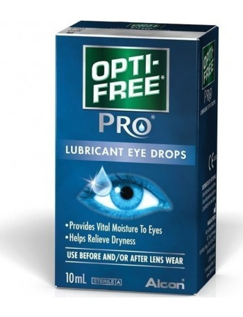 Optifree Pro Λιπαντικές οφθαλμικές σταγόνες 10 ml