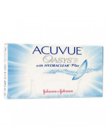 Acuvue Oasys with Hydraclear Plus Δεκαπενθημερος Φακος Σιλικονης Υδρογελης (6τεμ)