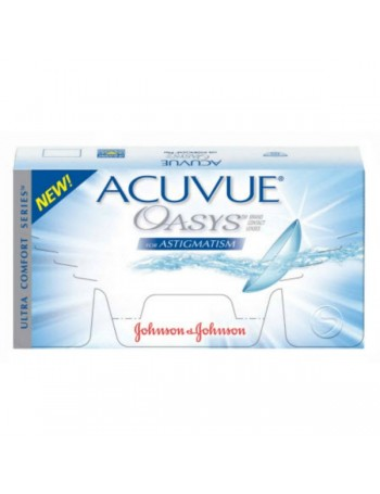 Acuvue Oasys for Astigmatism Δεκαπενθήμερος Φακος Σιλικονης Υδρογελης (6τεμ)