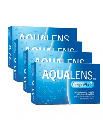 4 Aqualens Oxygen Plus (3pack)