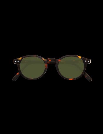 Izipizi Γυαλιά ηλίου H Sun Tortoise Green Lenses