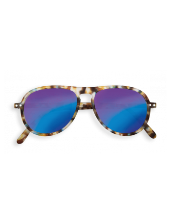 Izipizi Γυαλιά ηλίου I Sun Blue Tortoise Mirror Lenses