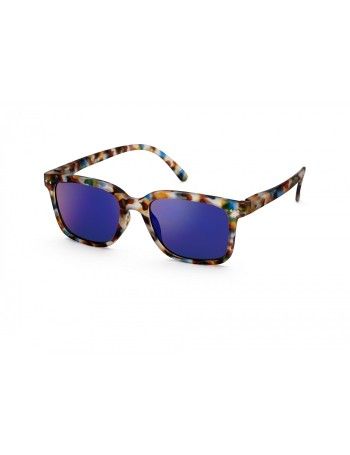 Izipizi Γυαλιά ηλίου L Sun Blue Tortoise Mirror