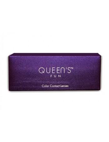 Queen's Fun  Μηνιαιοι Έγχρωμοι Φακοί Επαφης (2τεμ)